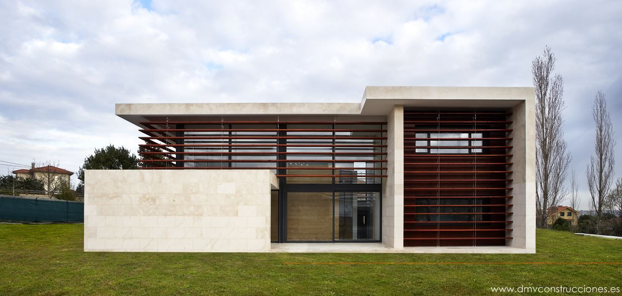 Chalet moderno dmv construcciones - Chalet fotos ...