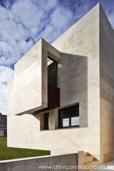 Chalet moderno dmv construcciones - Diseno de chalets ...