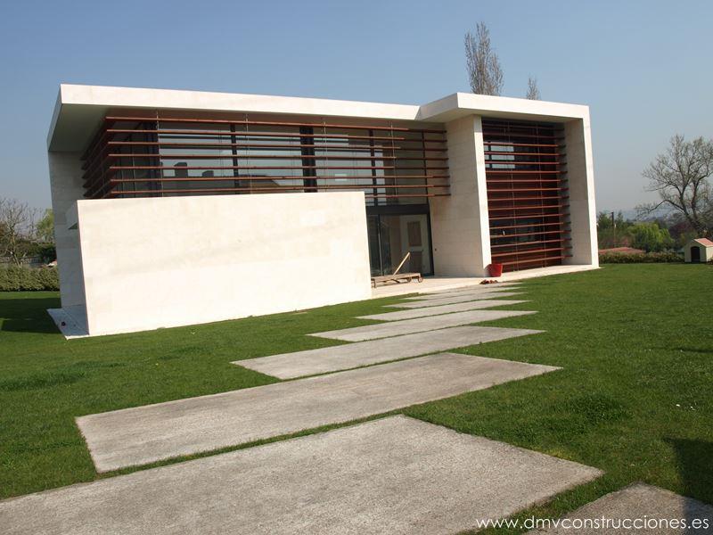 Chalet moderno dmv construcciones - Chalet diseno moderno ...