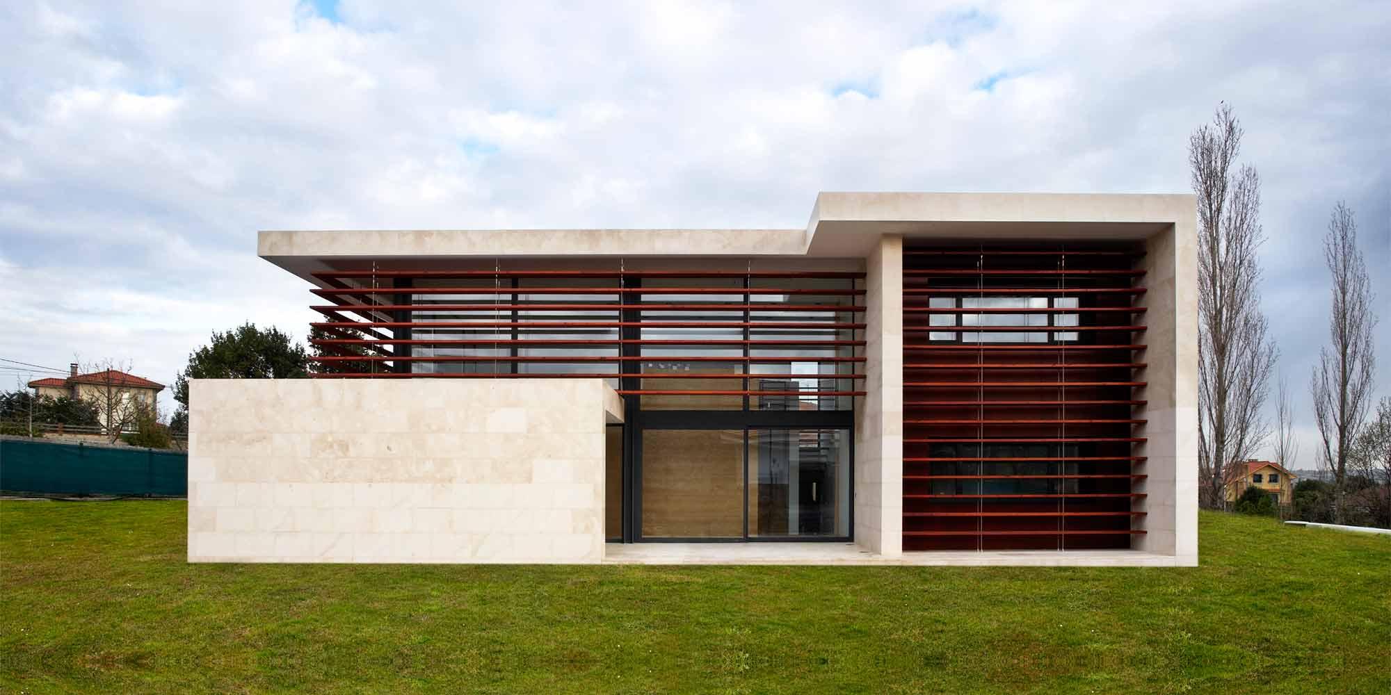Inicio dmv construcciones for Proyecto chalet moderno